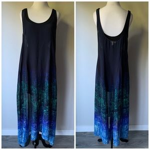 Urban Outfitters Printed Maxi Dress